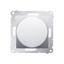 Sygnalizator świetlny LED - światło czerwone srebrny mat, metalizowany-253149