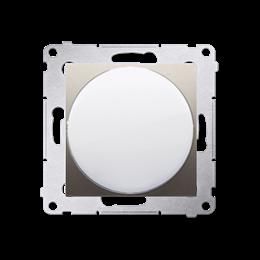 Sygnalizator świetlny LED - światło czerwone złoty mat, metalizowany-253150