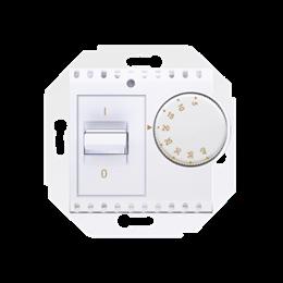 Regulator temperatury z czujnikiem wewnętrznym biały-252741