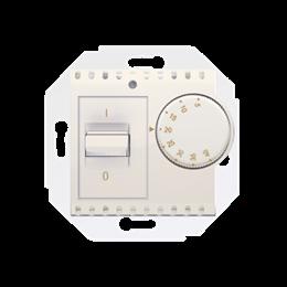Regulator temperatury z czujnikiem wewnętrznym kremowy-252766