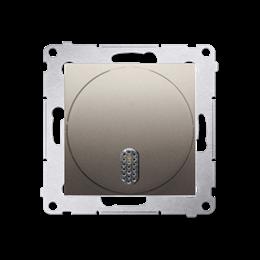 Dzwonek elektroniczny złoty mat, metalizowany-253163