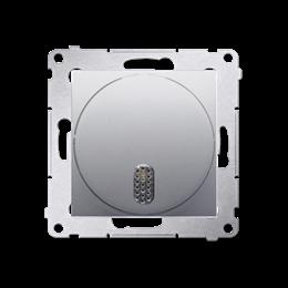 Dzwonek elektroniczny srebrny mat, metalizowany-253168