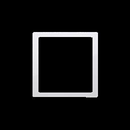 Pierścień dekoracyjny biały-253203