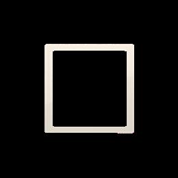 Pierścień dekoracyjny kremowy-253204