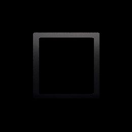 Pierścień dekoracyjny antracyt, metalizowany-253207