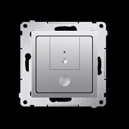Ściemniacz dwuprzyciskowy srebrny mat, metalizowany-252663