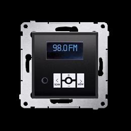 Radio cyfrowe z wyświetlaczem antracyt, metalizowany-252780