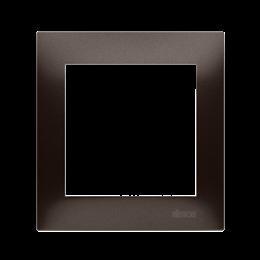 Ramka 1- krotna brąz mat, metalizowany-251561