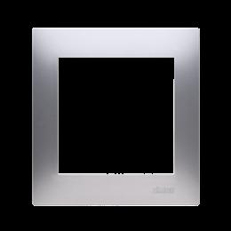 Ramka 1- krotna do puszek karton-gips srebrny mat, metalizowany-251566