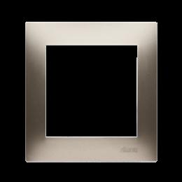 Ramka 1- krotna do puszek karton-gips złoty mat, metalizowany-251567