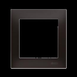 Ramka 1- krotna do puszek karton-gips antracyt, metalizowany-251582