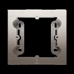 Puszka natynkowa 1-krotna złoty mat, metalizowany-251689