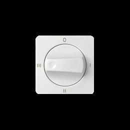 Pokrywa łącznika pokrętnego (4 pozycje) biały-251142
