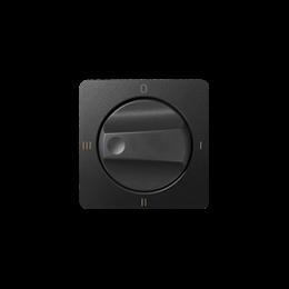 Pokrywa łącznika pokrętnego (4 pozycje) grafit-251144