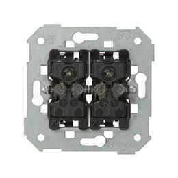 Łącznik z podświetleniem świecznikowy / podwójny schodowy 10AX-251005