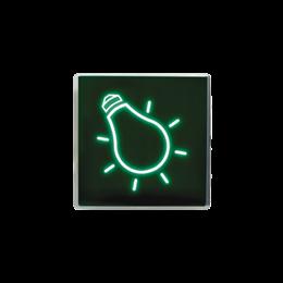 Klawisz świecący zielony-251079