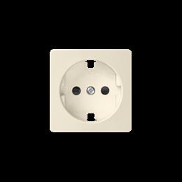 Pokrywa do gniazda wtyczkowego pojedynczego z uziemieniem typu Schuko beżowy-251255