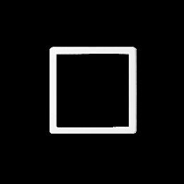 Pierścień wewnętrzy ramki do produktów elektronicznych biały-251244