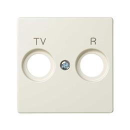 Pokrywa do gniazda antenowego R-TV-SAT WYCOFANY Z OFERTY - Dostępny do wyczerpania zapasów magazynowych, beżowy-251297