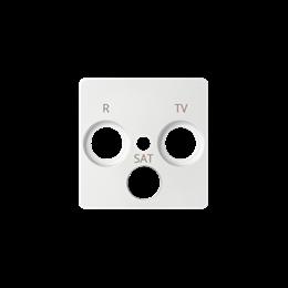 Pokrywa do gniazda antenowego R-TV-SAT biały-251277