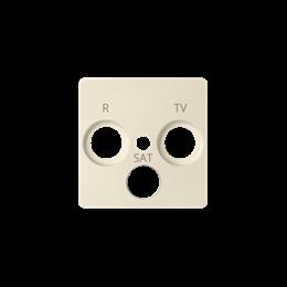 Pokrywa do gniazda antenowego R-TV-SAT beżowy-251278