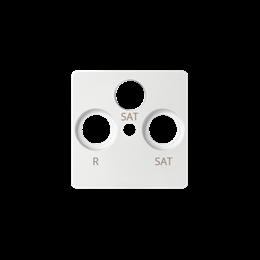 Pokrywa do gniazda antenowego SAT-SAT-RTV biały-251280