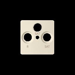 Pokrywa do gniazda antenowego SAT-SAT-RTV beżowy-251281