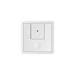 Klawisz podwójny do łączników i przycisków biały-251164