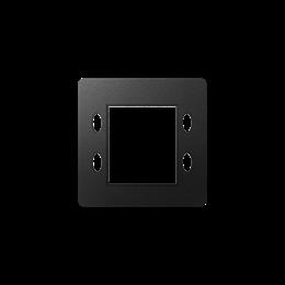 Pokrywa do zegara, termostatu, progrmatora, sterownika grafit-251188