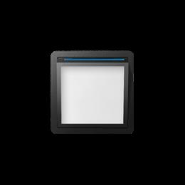 Pokrywa do modułu świecącego LED grafit-251085