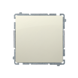 Łącznik jednobiegunowy (moduł) 10AX 250V, szybkozłącza, beżowy-253389