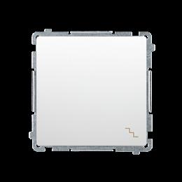 Łącznik schodowy (moduł) 10AX 250V, szybkozłącza, biały-253463