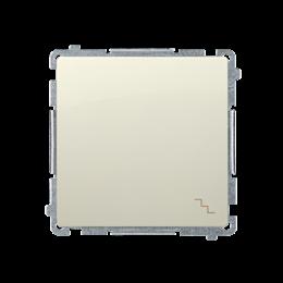 Łącznik schodowy (moduł) 10AX 250V, szybkozłącza, beżowy-253464
