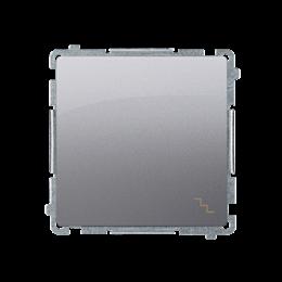 Łącznik schodowy (moduł) 10AX 250V, szybkozłącza, inox, metalizowany-253465
