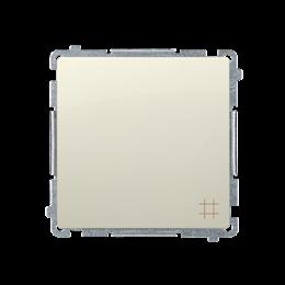 Łącznik krzyżowy (moduł) 10AX 250V, zaciski śrubowe, beżowy-253539