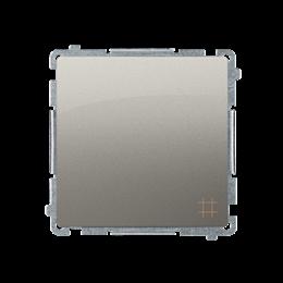 Łącznik krzyżowy (moduł) 10AX 250V, zaciski śrubowe, satynowy, metalizowany-253541