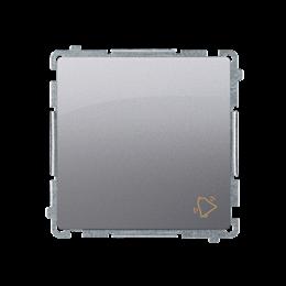 """Przycisk """"dzwonek"""" (moduł) 10AX 250V, szybkozłącza, inox, metalizowany-253568"""