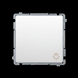 """Przycisk """"światło"""" (moduł) 10AX 250V, szybkozłącza, biały-253594"""