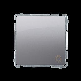 """Przycisk """"światło"""" (moduł) 16AX 250V, zaciski śrubowe, inox, metalizowany-253604"""
