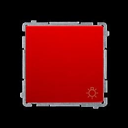 """Przycisk """"światło"""" (moduł) 10AX 250V, szybkozłącza, czerwony-253598"""