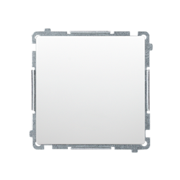 Przycisk pojedynczy zwierny bez piktogramu (moduł) 10AX 250V, szybkozłącza, biały-253624