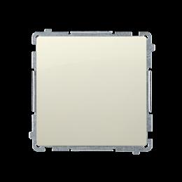Przycisk pojedynczy zwierny bez piktogramu (moduł) 10AX 250V, szybkozłącza, beżowy-253625