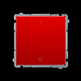 Łącznik dwubiegunowy (moduł) 10AX 250V, szybkozłącza, czerwony-253670