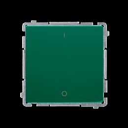 Łącznik dwubiegunowy (moduł) 10AX 250V, szybkozłącza, zielony-253671