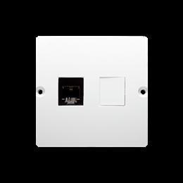Gniazdo telefoniczne pojedyncze RJ11 (moduł) biały-254078