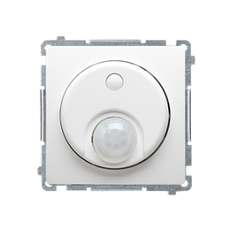 Łącznik z czujnikiem ruchu z przekaźnikiem biały-254261