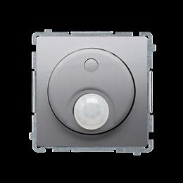 Łącznik z czujnikiem ruchu inox, metalizowany-254252