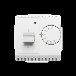 Regulator temperatury z czujnikiem wewnętrznym biały-254274