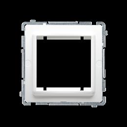 Adapter przejściówka na osprzęt standardu 45×45 mm biały-254296