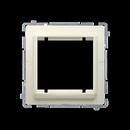 Adapter przejściówka na osprzęt standardu 45×45 mm beżowy-254297